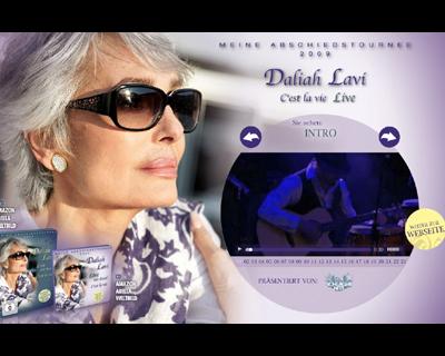 Daliah Lavi, Das große Video-Preview zur DVD C'est la vie LIVE