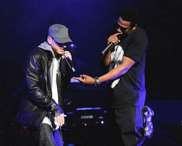 Eminem, Jay-Z zu MTV: Wo zur Hölle ist Eminem?