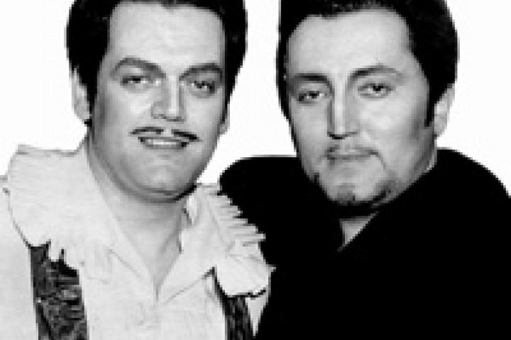 Fritz Wunderlich und Hermann Prey © Deutsche Grammophon