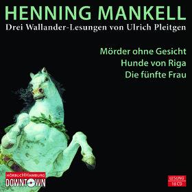 Henning Mankell, Drei Wallander Lesungen (18CDs), 09783869090337
