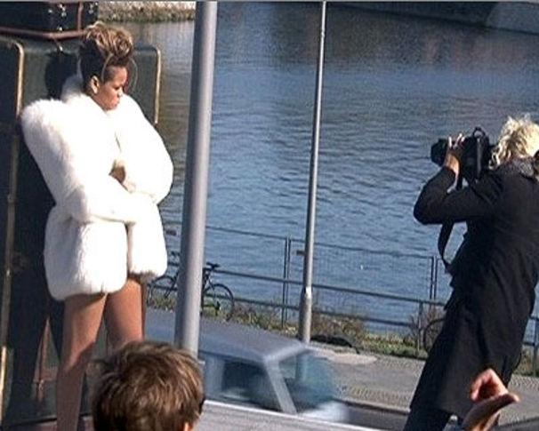 Rihanna, Rihanna: Heimliches Fotoshooting in Berlin