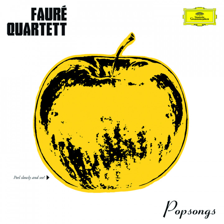 Popsongs: Faure Quartett mit Schriftzug