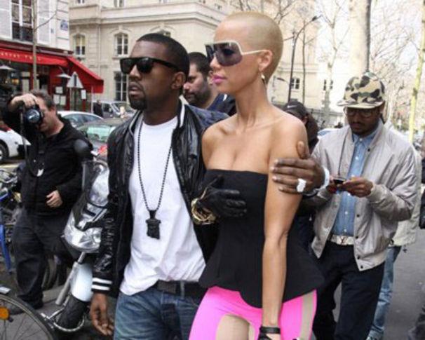 Kanye West, Amber Rose dementiert Todesgerüchte um Kanye West!