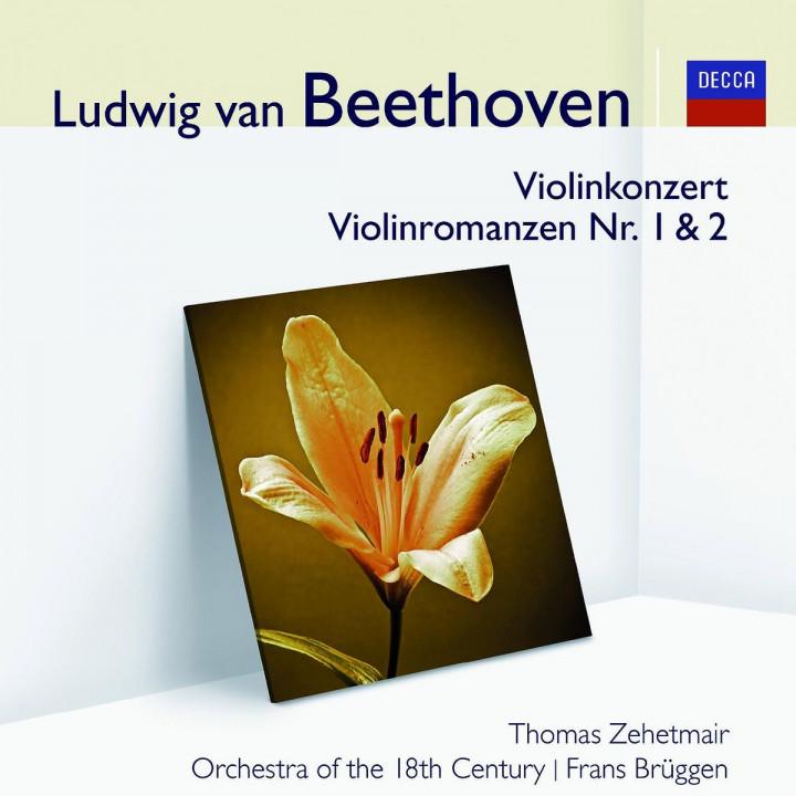 Violinkonzert/Romanze 1+2/+ (Audior): Zehetmair/O18C/Brüggen