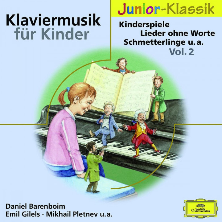 Klaviermusik für Kinder Vol.2