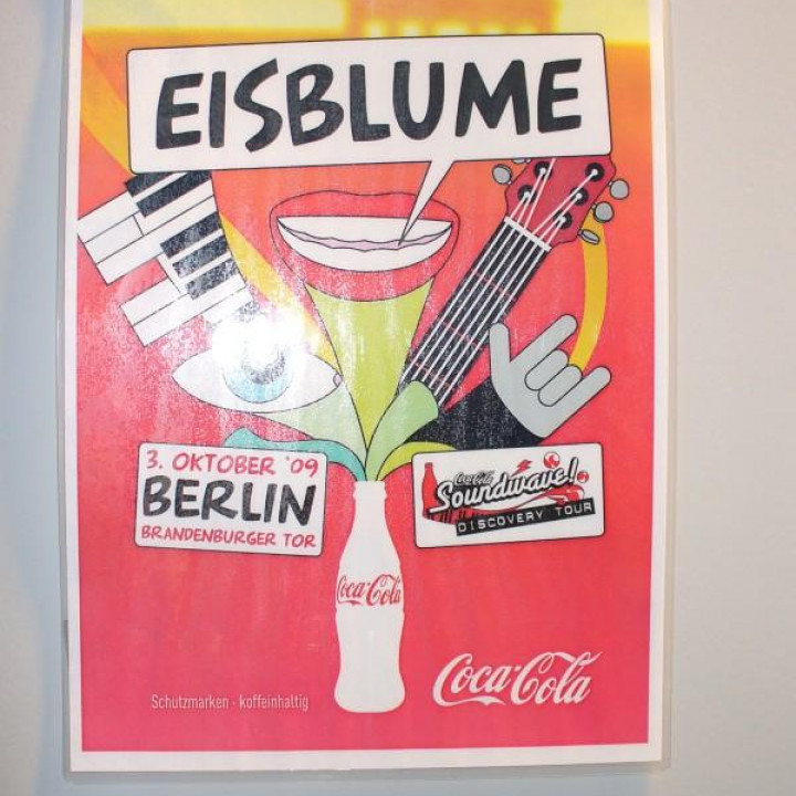 Eisblume—Coca Cola Soundwave 2009