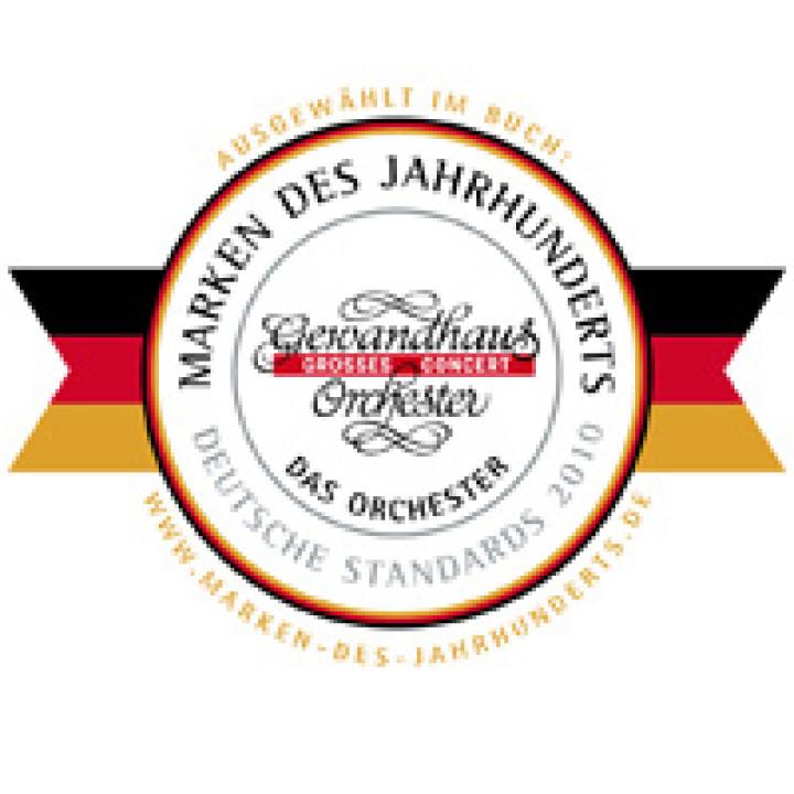 Marke des Jahrhunderts Gewandhausorchester zu Leipzig © Gewandhaus Leipzig