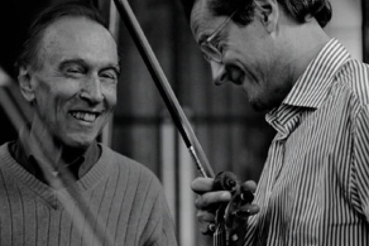 Giuliano Carmignola & Claudio Abbado © Harald Hoffmann / DG