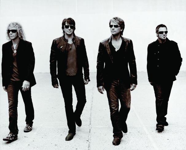 Bon Jovi, Bon Jovi feiern den Mauerfall!