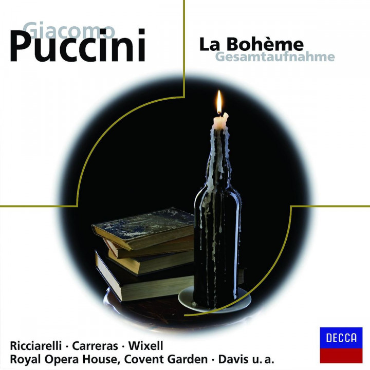 La Boheme (GA): Ricciarelli/Carreras/Wixell/ROHO/Davis/+