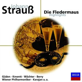 eloquence, Die Fledermaus (QS): Gueden/Köth/Kmentt/Berry/Karajan/WP/+, 00028948031047