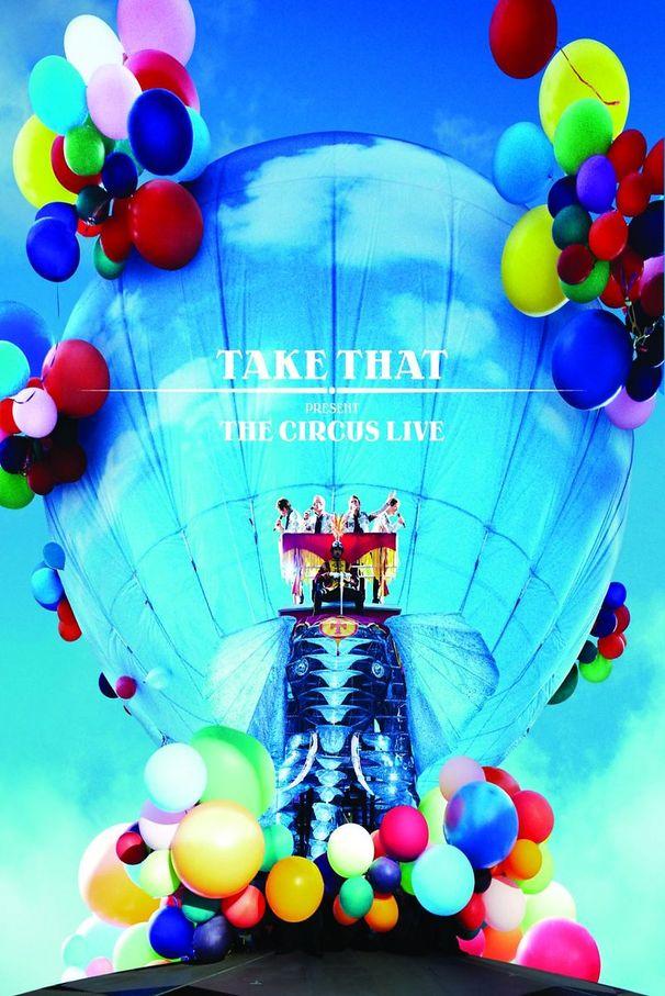 Take That, The Circus – Live - DVD im Kino ansehen / Tickets zu gewinnen!