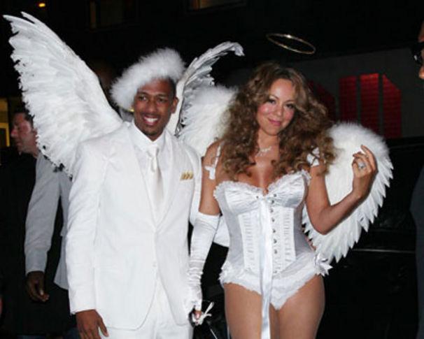 Mariah Carey, Mimi und Nick feierten ein himmlisches Halloween