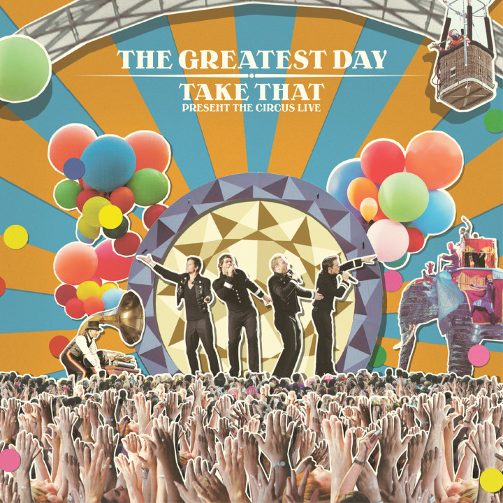 Take That Live CD Cover 2009