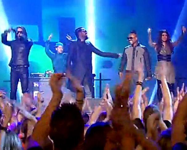 The Black Eyed Peas, Black Eyed Peas live bei Wetten dass...?