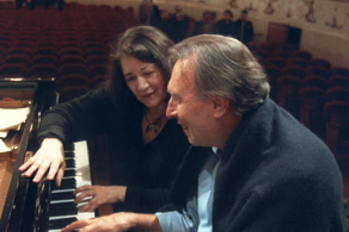 Martha Argerich und Claudio Abbado © Marco Caselli Nirmal / DG