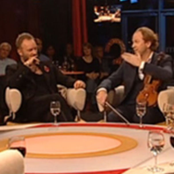 Sting, Daniel Hope und Sting bei 3nach9