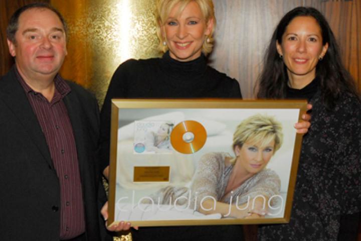 claudia jung artist gold in österreich