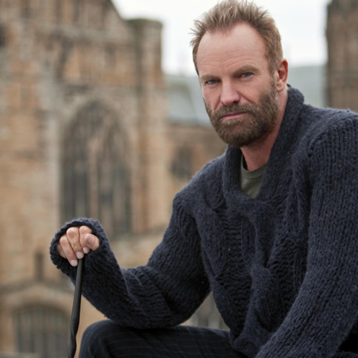 "Sting Fotos zu ""A Winter's Night"" © Clive Barda / DG"