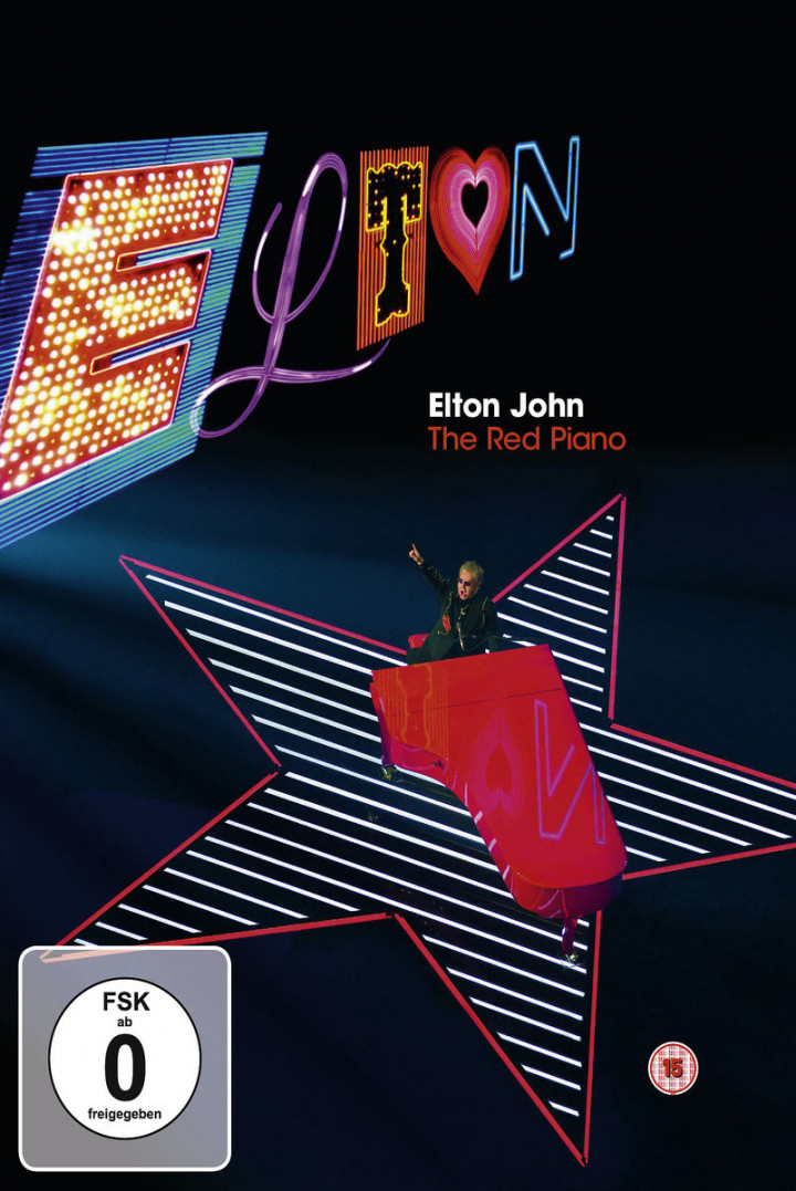 The Red Piano (Blu-Ray): John, Elton