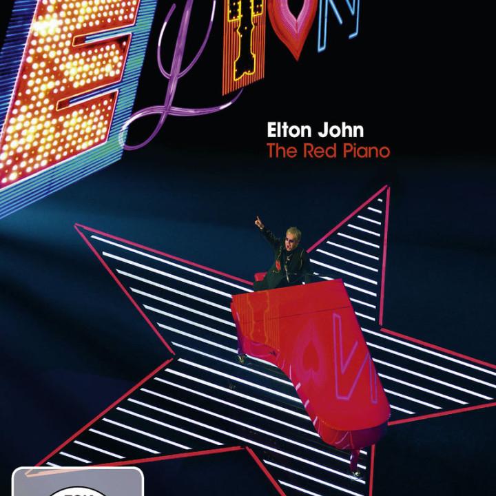 The Red Piano (Blu-Ray): John, Elton