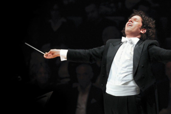 Gustavo Dudamel © Mathew Imaging / Los Angeles Philharmonic