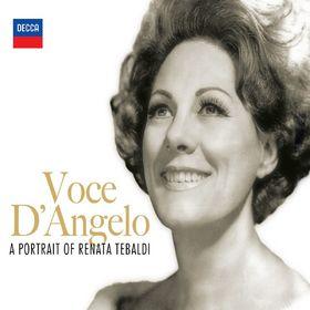 Renata Tebaldi, Voce D'Angelo - A Portrait Of Renata Tebaldi, 00028947822004