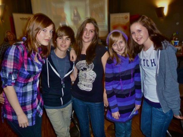 Justin Bieber, Die Gewinner des Meet & Greet!