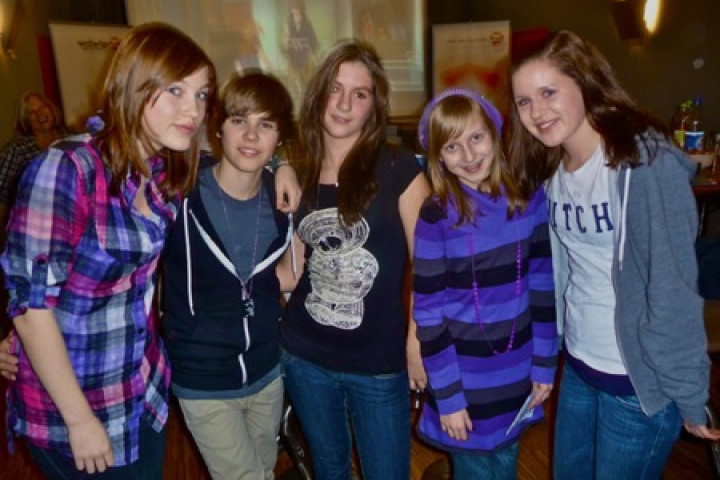 Bieber-Fieber Gewinnerinnen