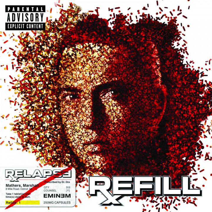 Eminem Relapse : Refill Cover 2009
