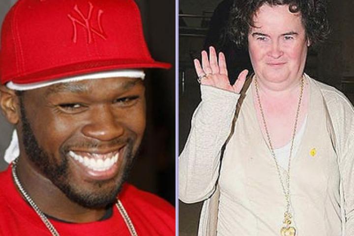 50 Cent & Susan Boyle
