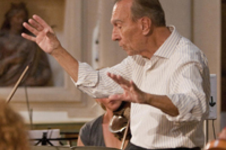 Claudio Abbado dirigiert Stabat Mater ©Marco Caselli Nirmal