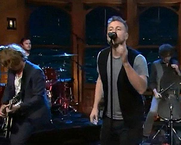OneRepublic, OneRepublic live in der Craig Ferguson Show