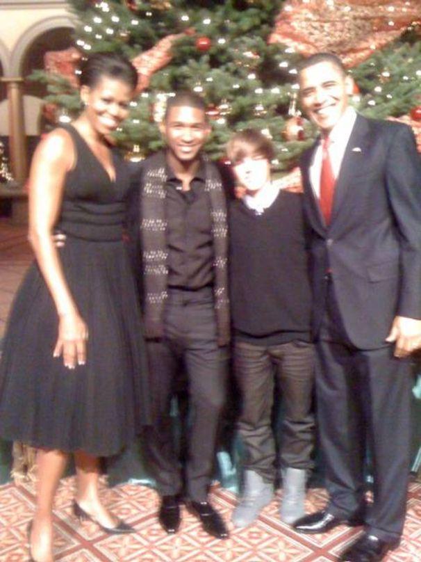 Justin Bieber, Justin trifft Obama!