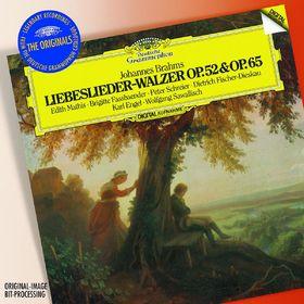 Dietrich Fischer-Dieskau, Brahms: Liebeslieder-Walzer Opp.52 & 65; 3 Quartette Op.64, 00028947786191