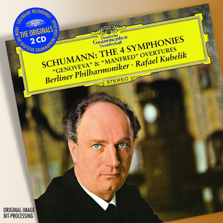 "Schumann: The 4 Symphonies; Overtures Opp.81 ""Genoveva"" & 115 ""Manfred"""