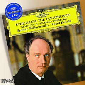 The Originals, Schumann: Alle Sinfonien, Ouvertüren Genoveva & Manfred, 00028947786214