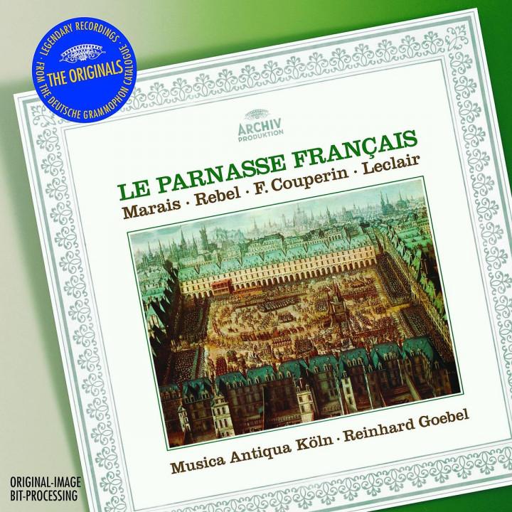 Le Parnasse Francais - Marais: La Sonnerie de Sainte-Geneviève du Mont de Paris; Sonata à la Marési