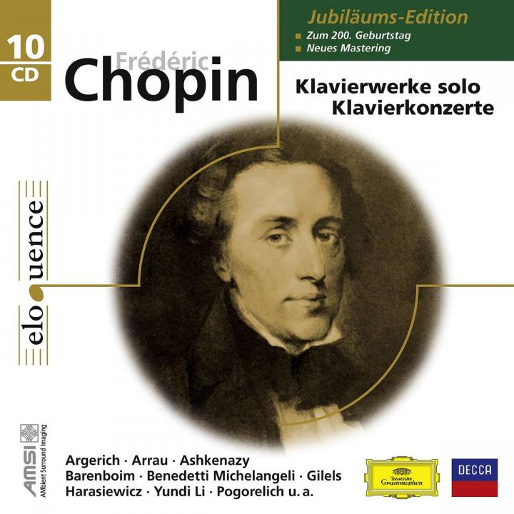 Klavierwerke solo/Klavierkonzerte Jubiläumsedition: Argerich,M./Arrau,C./Barenboim,D./Pogorelic