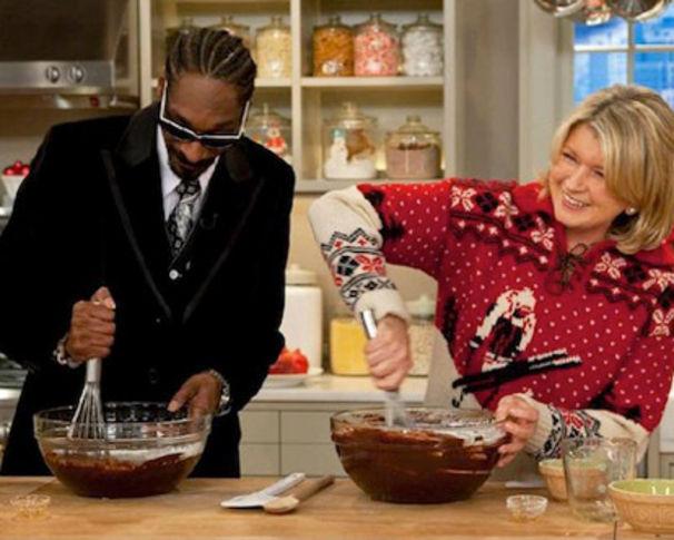Snoop Dogg, Grüne Brownies zu Weihnachten