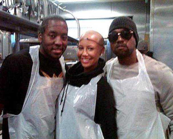 Kanye West, Kanye zeigt Herz in der Armenküche