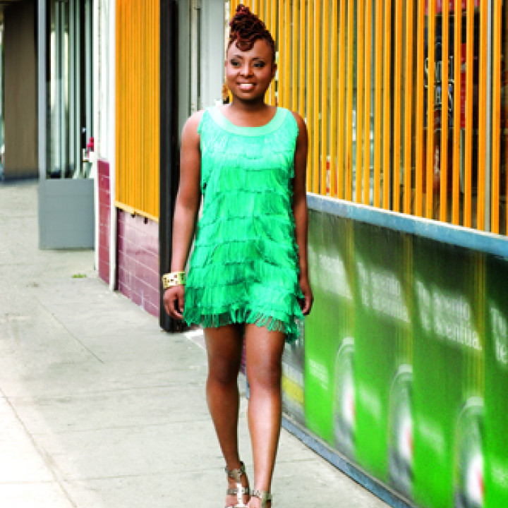 Ledisi Turn Me Loose Verve Walking Blue Dres