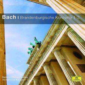 Die Berliner Philharmoniker, Bach - Brandenburgische Konzerte 1-3, 00028948033379