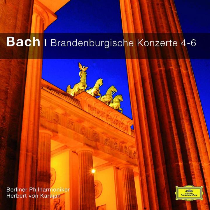 Brandenburgische Konzerte 4-6 (CC): Karajan/BP/+