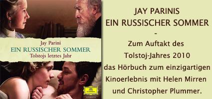 Jay Parini, Das Hörbuch zum Kinofilm Ein russischer Sommer
