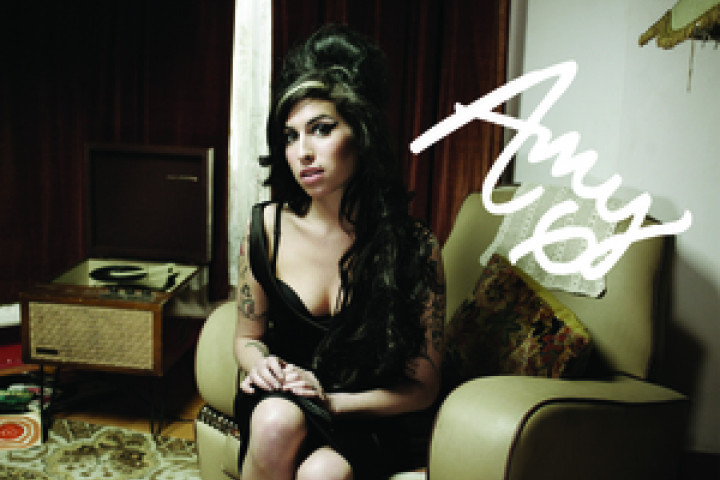 Amy Winehouse Autogrammkarte