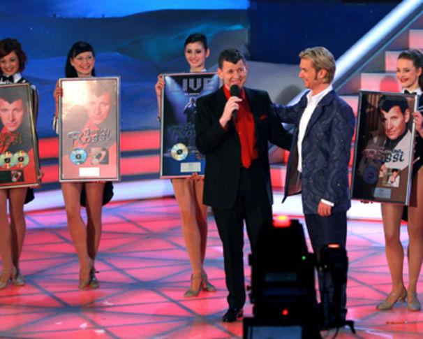 Semino Rossi, Gold- und Platinregen aus Deutschland und Österreich für Semino Rossi