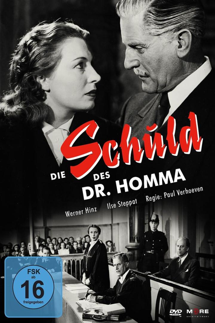Die Schuld des Dr. Homma: Verhoeven,Paul/Hinz,Werner