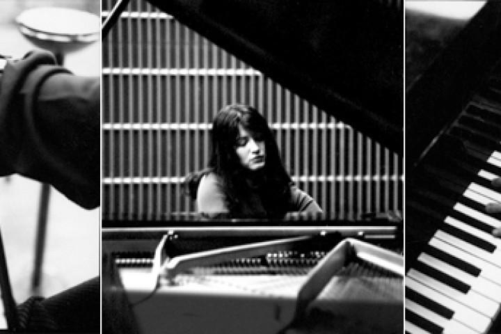 Martha Argerich am Klavier und Aufnahmen aus dem Studio des WDR  © Werner Neumeister