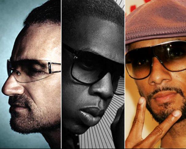 Jay-Z, Bono, Jay-Z und Swizz Beatz nehmen Track für Haiti auf